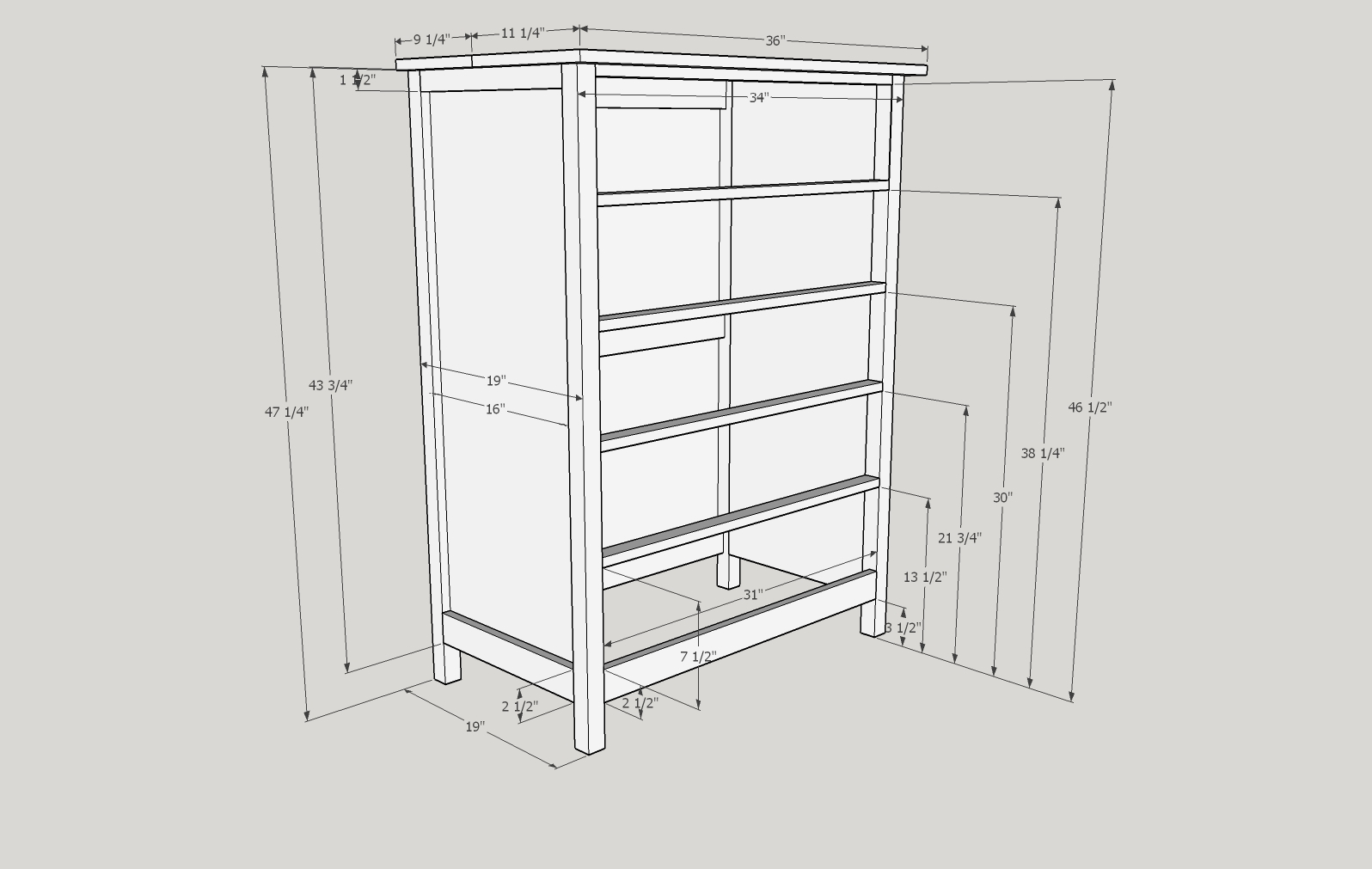 Shoms Dresser